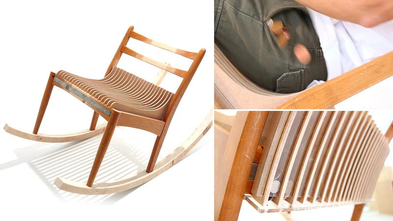 Illustration for article titled This Pocket Change Stealing Chair Will Eventually Pay For Itself