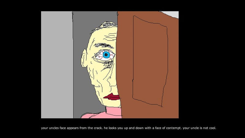 Illustration for article titled This David Lynch-Inspired Text Adventure Is Gross, Weird, And Pretty Cool