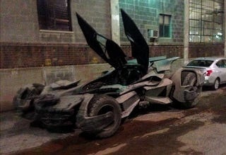 Illustration for article titled New Batmobile revealed? (spoiler: If it's real, it's pretty awesome)