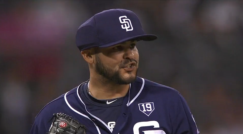 Illustration for article titled Padres Reliever Alex Torres Is First To Wear Padded Cap On MLB Mound