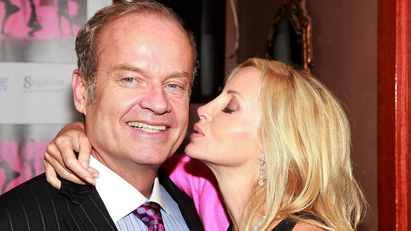 Illustration for article titled Cool Guy Kelsey Grammer Refuses to Speak to the Mother of His Children