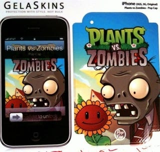 Illustration for article titled Plants Vs. Zombies Attack Your Desk, Phone