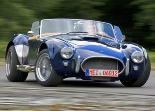 Illustration for article titled AC Cobra Out-Drags Corvette ZR1
