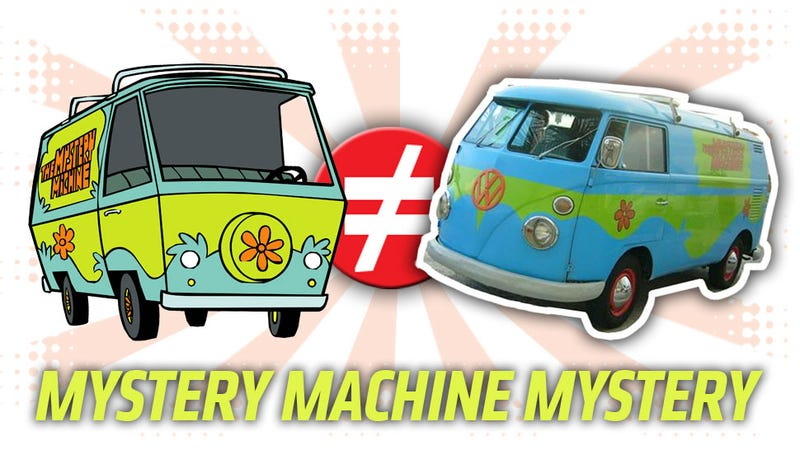 Illustration for article titled Public Service Announcement: The Mystery Machine Is Not A VW Microbus