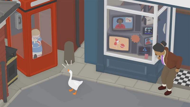 Illustration for article titled The Week In Games: Duck... Duck... Untitled Goose Game!