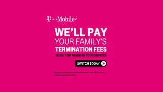 Illustration for article titled Rumor: Leaked T-Mobile Ad Promises to Pay Families to Leave Rivals