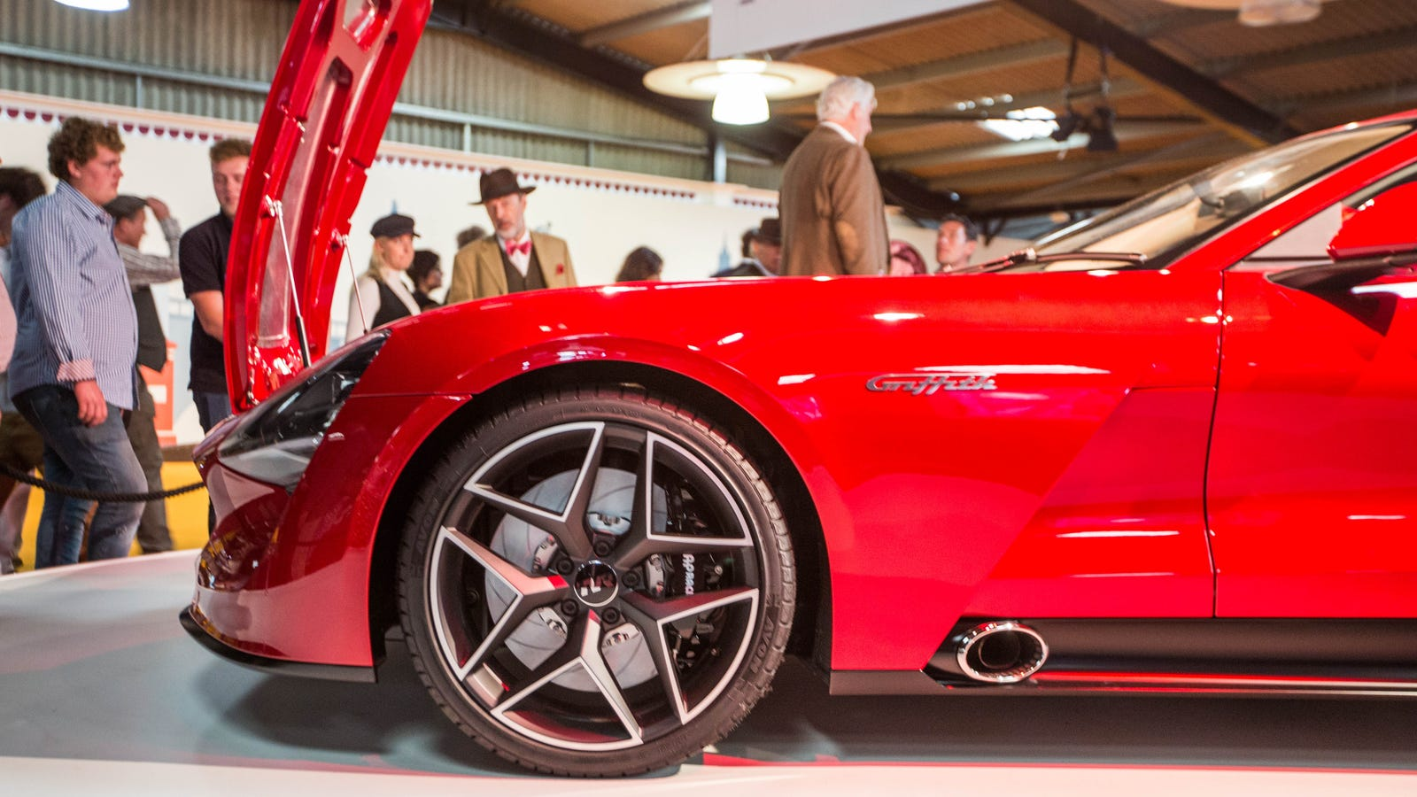 How The New 500 Horsepower TVR Griffith Could Come To America After All