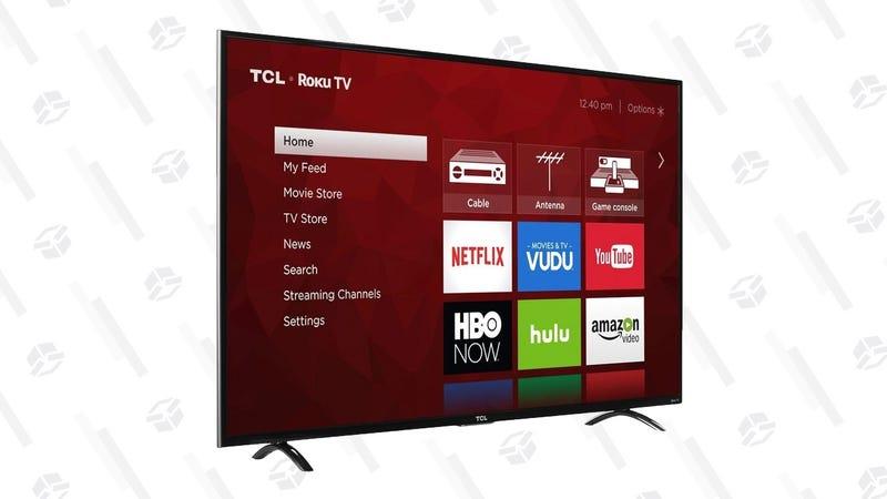 """Refurb TCL 55""""  55P605 4K TV    $400   Woot"""