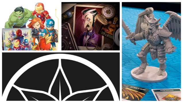 Wonder Woman, Marvel Heroes, and Power Rangers Are All Stars of the Latest Tabletop News