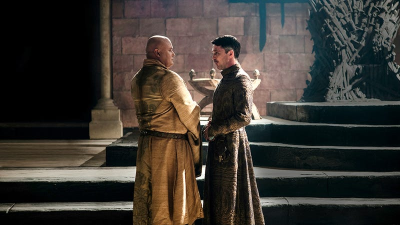 Illustration for article titled Is Game of Thrones all about the war between Varys and Littlefinger?