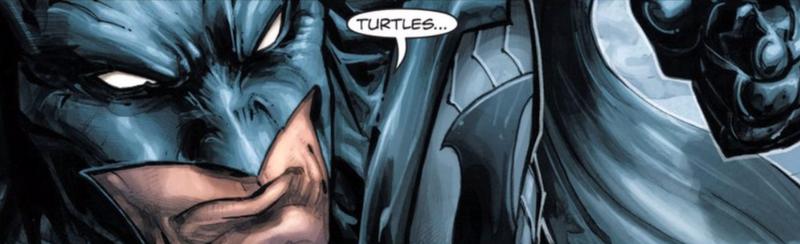Illustration for article titled The Batman/Teenage Mutant Ninja Turtles Comic Is Surprisingly Good