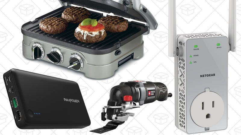 Today's Best Deals: Storage and Networking Gear, Porter-Cable Multi-Tool, USB-C Battery