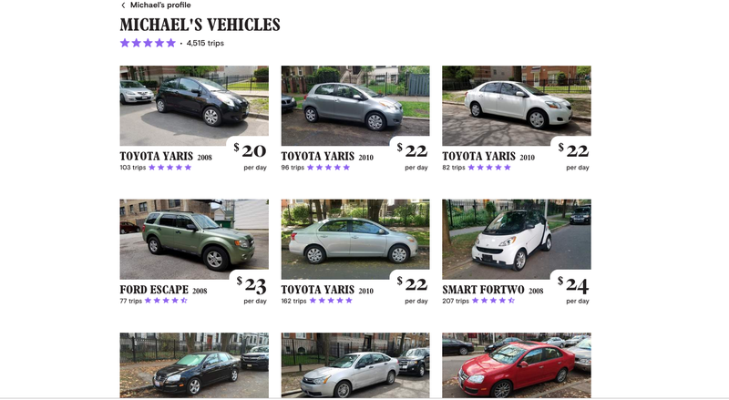Illustration for article titled Turo Guy Who Street Parked 38 Cars Has Chicago Furious With Him