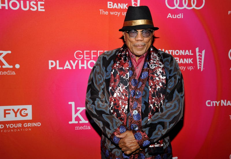 Quincy Jones in Los Angeles on March 19, 2017  (John Sciulli/Getty Images for Geffen Playhouse)