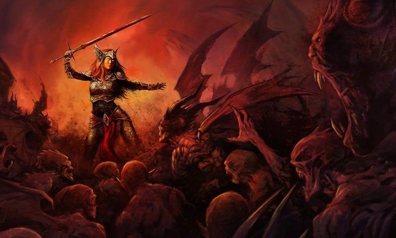 Illustration for article titled The Struggle To Bring Back Baldur's Gate After 17 Years
