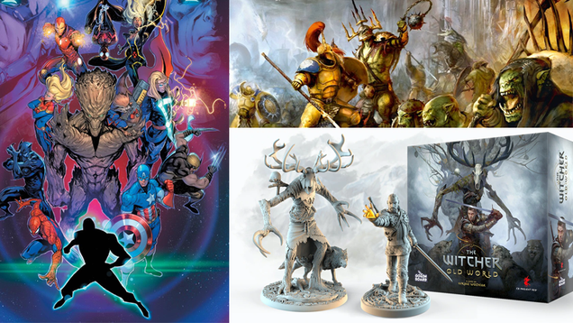 Marvel Returns to Roleplaying, a New Warhammer Box Set, and More Tabletop Gaming News