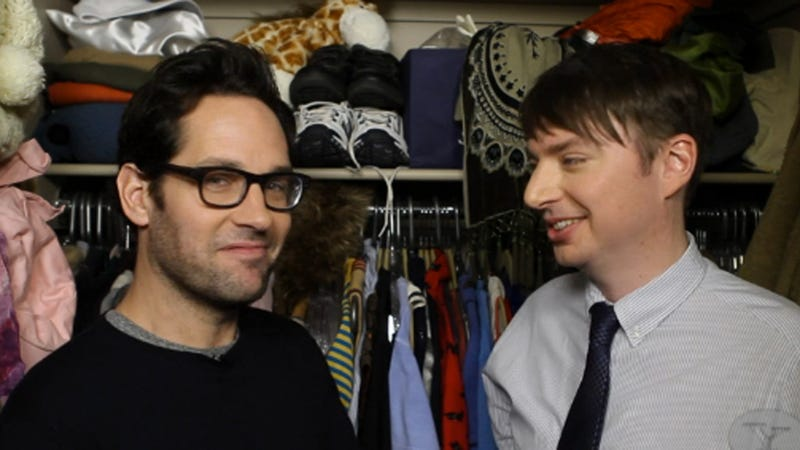 Mike OBrien Lives The Dream In 7 Minutes Heaven With Paul Rudd
