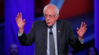 Democratic presidential candidate Bernie SandersJustin Sullivan/Getty Images