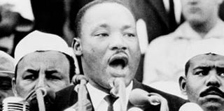 Martin Luther King Jr. at the March on Washington (Prints and Photographs Division, Library of Congress)