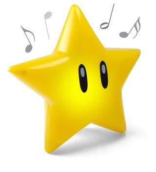 Illustration for article titled Super Mario Singing Star Gives You Immunity To Carpal Tunnel For 15 Second Intervals