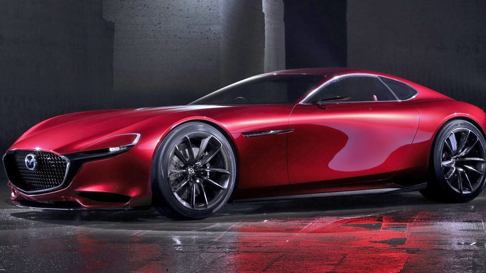 The Mazda RX-Vision Is Gorgeous Because It's Inspired By ...