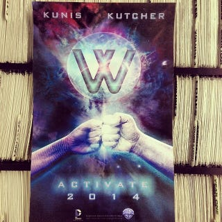 Illustration for article titled Wonder Twins, starring Mila Kunis and Ashton Kutcher?