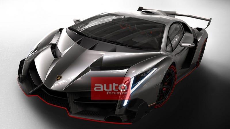 Illustration for article titled More Photos Of The $4.6 Million Lamborghini Veneno