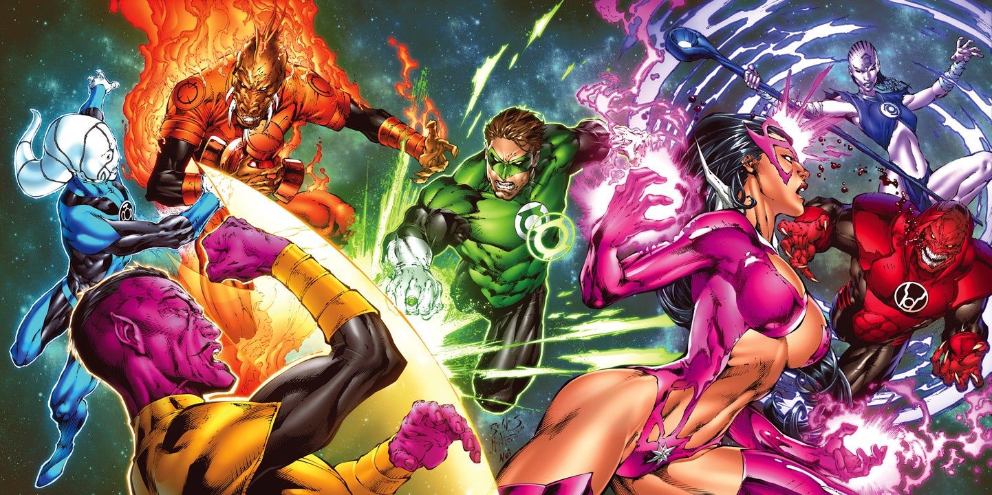 Green Lantern Comic Wallpaper: What Are The Different Lantern Corps, And What Do They Want?