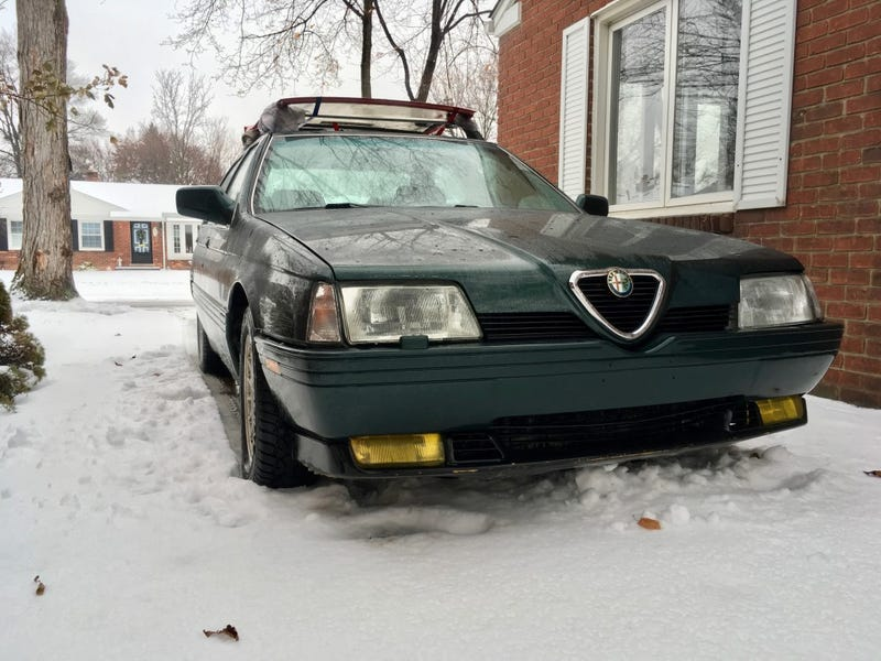 Illustration for article titled How I ended up with an Alfa Romeo winter beater