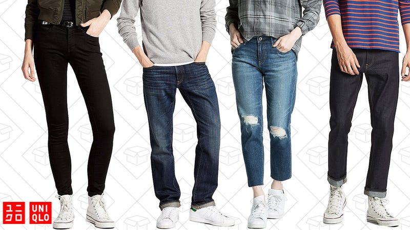 Free shipping on your entire order with purchase of select denim