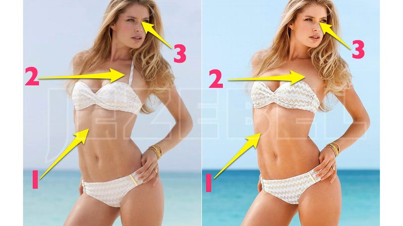 The Unretouched Images Victorias Secret Doesnt Want You To See - This shocking video shows how photoshopped models are