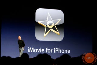 Illustration for article titled iMovie for iPhone is Coming