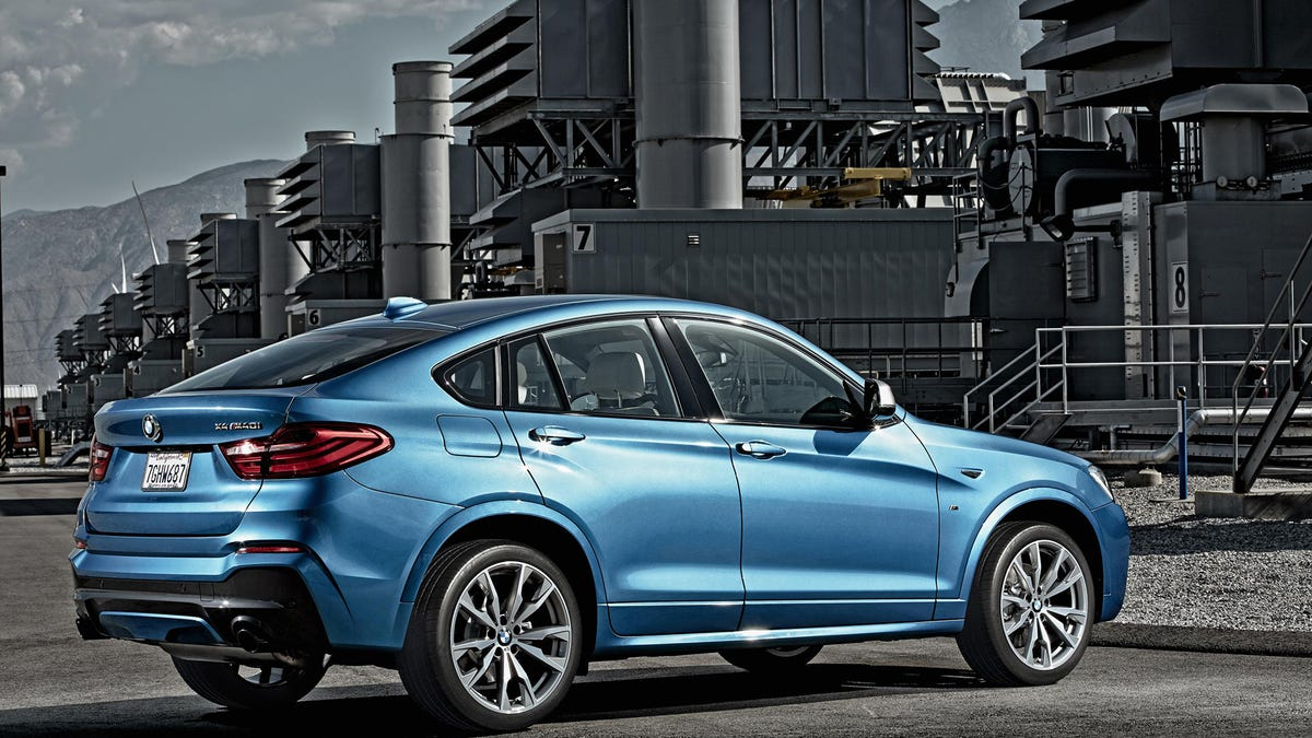 The BMW X4 M40i Is Your 355 Horsepower Budget X6 M
