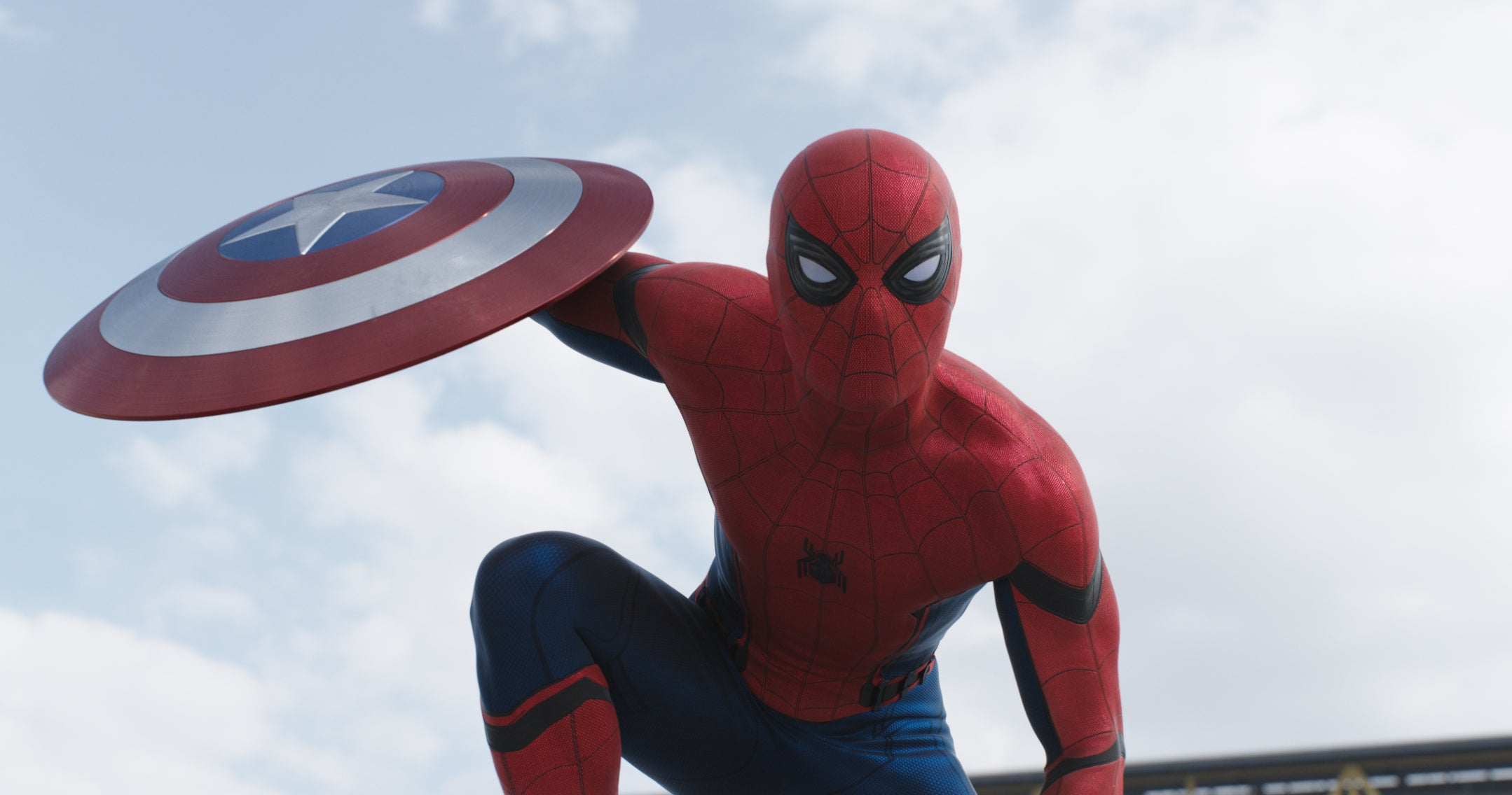 Hey everyone. & Hereu0027s Our Best Look at Spider-Manu0027s Fabulous New Costume