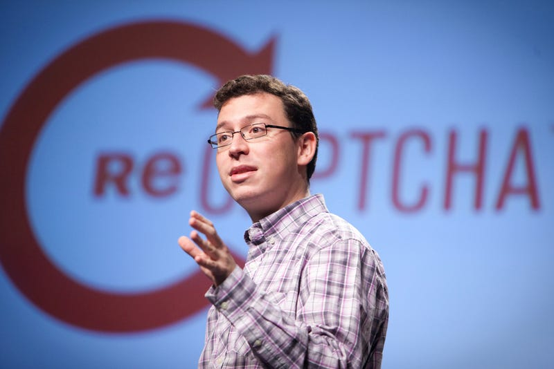 Illustration for article titled Luis von Ahn, creador de los Captcha, sobre Google, ideas y sueños