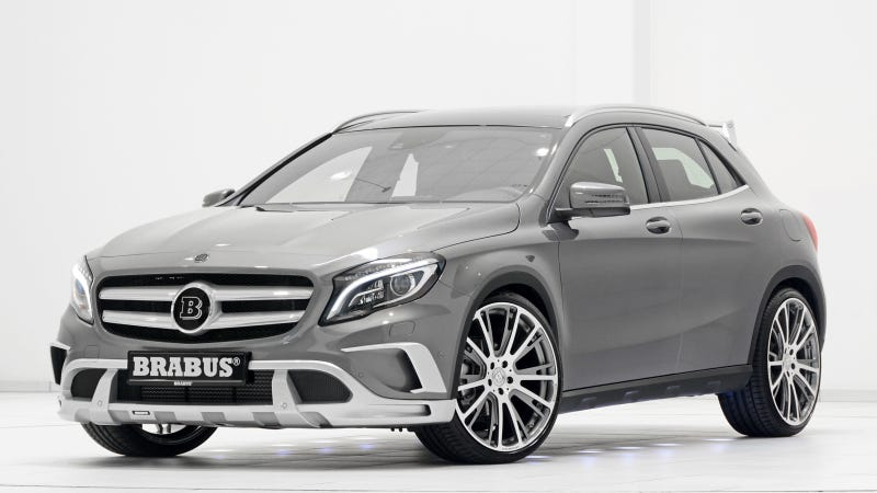 Illustration for article titled Brabus Mercedes GLA: Has The Tuner Finally Made Something Tasteful?