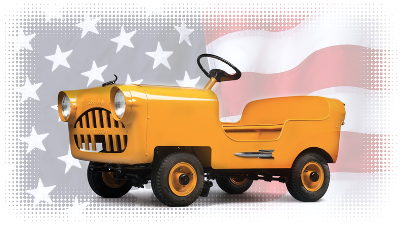 Illustration for article titled Meet America's Smallest, Adorably Ugliest Car: The Eshelman!