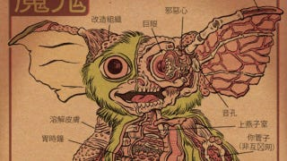 Illustration for article titled Peek inside the anatomies of Gremlins, Predators, and Martian Invaders