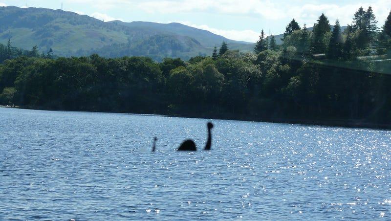 A Nessie sighting. Image: Wikimedia