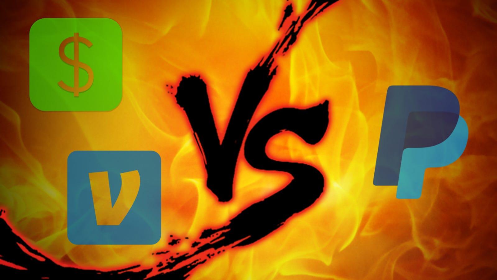 Money Transfer Showdown: Square Cash vs  Venmo vs  PayPal