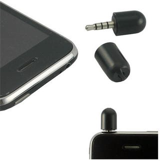 Illustration for article titled iPod Touch and iPod Nano Get a Mini Microphone