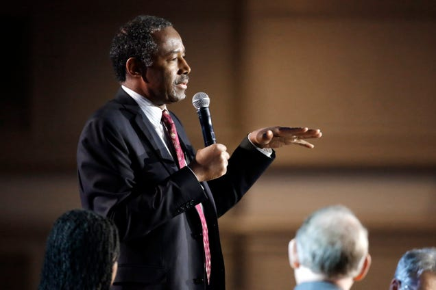 Ben Carson Says America is Like a Cruise Ship and We Might All Die on it