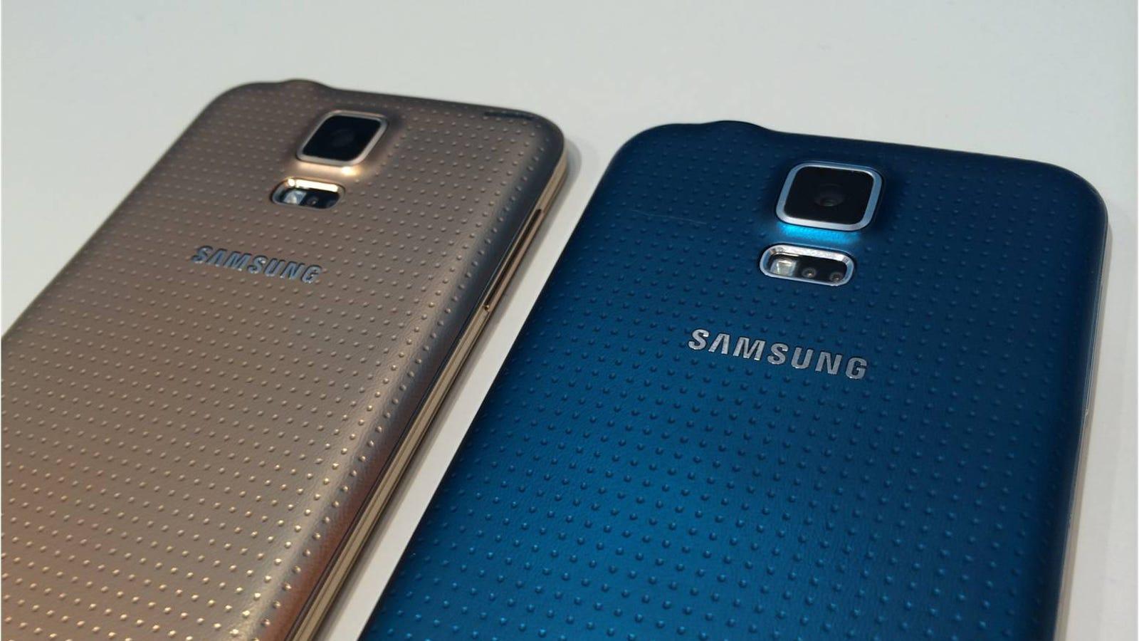 Así funciona el lector de huellas del nuevo Samsung Galaxy S5