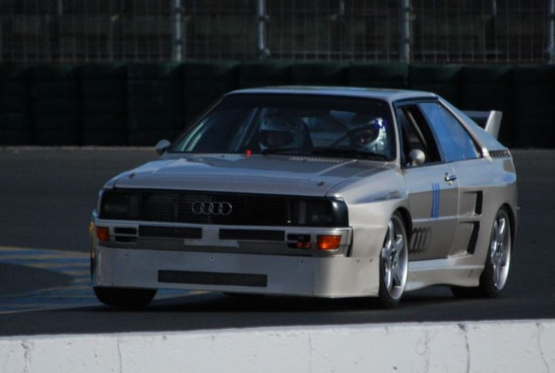 Illustration for article titled Automotive Worship Object Of The Year: Street-Legal 500-Horse Audi ur-Quattro
