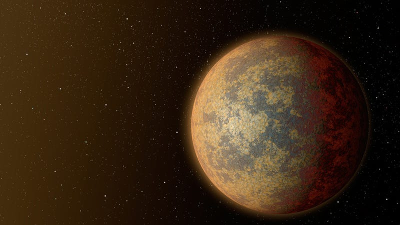 Illustration for article titled There's a Rocky Exoplanet Just 21 Light-Years Away