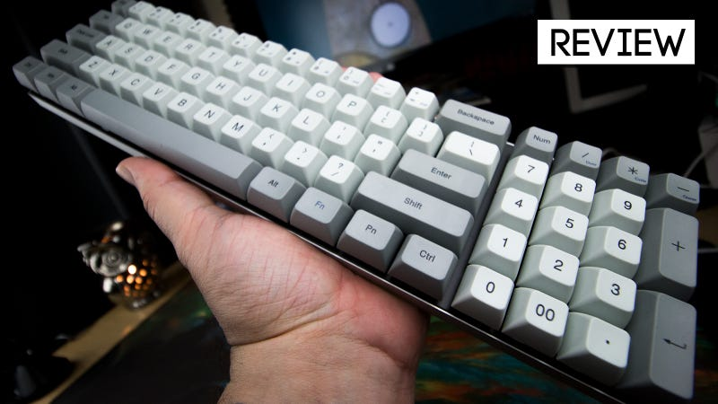 Illustration for article titled Vortex Vibe Keyboard Review: Smaller By The Numbers