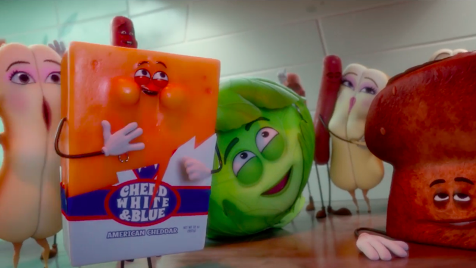 Watch the Horrific Trailer for Sausage Party, the R-Rated, CG Movie About Talking Food