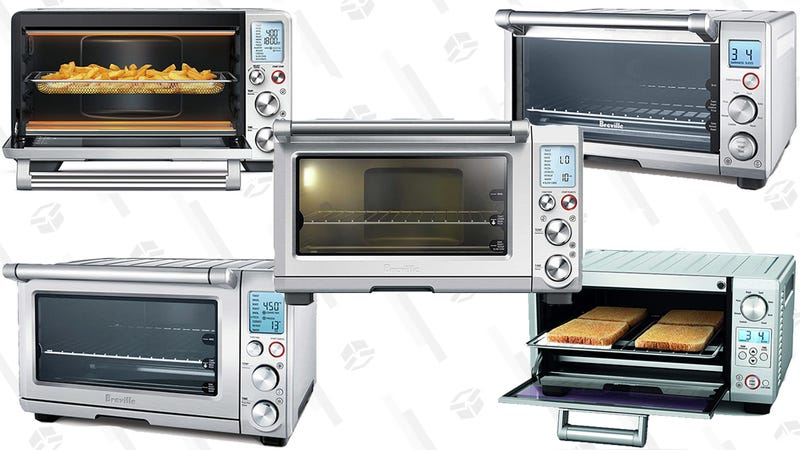 Breville Mini Smart Oven with Element IQ | $96 via coupon on page | AmazonBreville Countertop Oven | $144 | AmazonBreville Smart Oven 1800W Convection Toaster Oven with Element IQ  | $160 | AmazonBreville Smart Oven Pro 1800W Convection Toaster Oven with Element IQ | $173 via coupon on page | AmazonBreville Smart Oven with Air Fry | $256 via coupon on page | Amazon