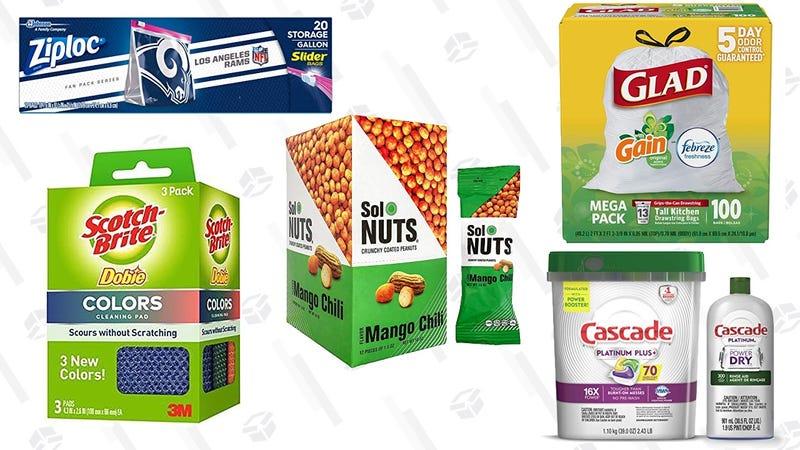 Gold Box de productos para la Super Bowl | AmazonGráfico: Shep McAllister