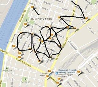 Illustration for article titled Orbán nevét rajzolják ki az újlipótvárosi trafikok a térképen